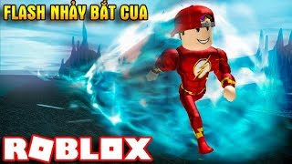 ROBLOX | NTN when The Flash Vamy jumps Parkour at super fast speeds | Parkour Simulator | Vamy Tran
