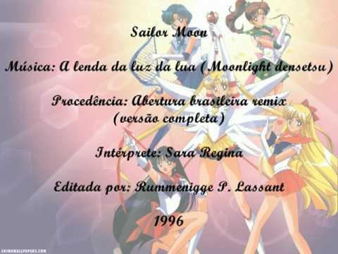 Sailor moon - A lenda da luz da lua (moonlight densetsu) - Abertura brasileira completa