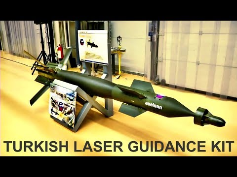 LASER GUIDANCE KIT-  THE SUCCESS OF TURKISH ENGINEERS- WITH LGK KITS, BOMBS FULL HIT - TURKISH ARMY