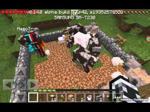 Minecraft pe survival bölüm 5 yeni kişi