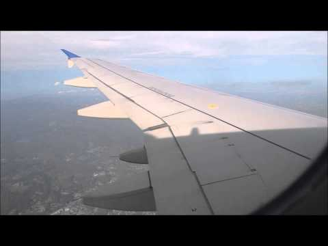 United Airlines 789 Airbus A-319 KDEN-KBOS Taxi, Takeoff, and Landing (FULL VIDEO)