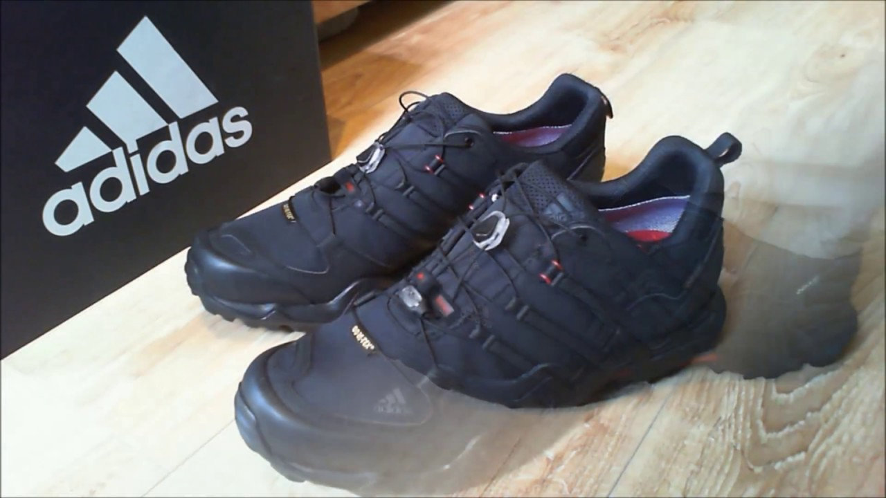 96f319880f467 Adidas Men s Terrex Swift R GTX Low Rise Hiking Boots - YouTube