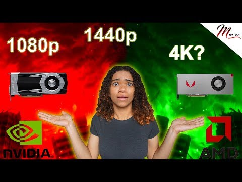 How to Choose a Graphics Card  2018 - Best GPU for Each Resolution - 1080p 144Hz 1440p 4K