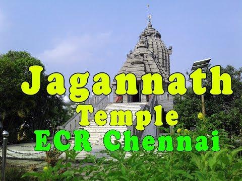chennai puri jagannath temple ECR vlog