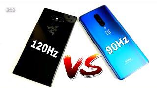 OnePlus 7 Pro Vs Razer Phone 2 | Speed, Gaming, Screen Test |120Hz Vs 90Hz | Better or Gimmick