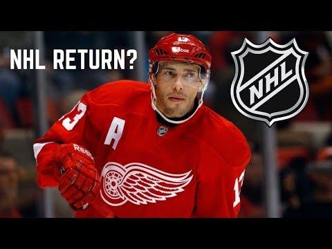 Could Pavel Datsyuk return to the NHL?