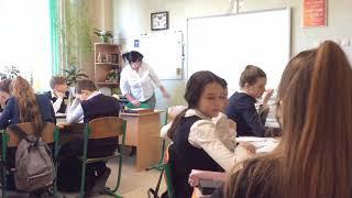 Урок біології 6 клас