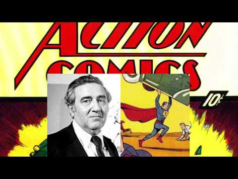 A interview with Jerry Siegel, creator of Superman