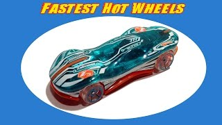 Hot Wheels FASTEST CAR!!! - Clear Speeder 2014 Mainline