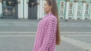Кардиган ШИНШИЛЛА (прямой эфир)