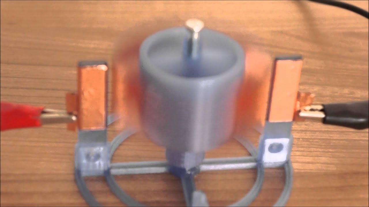 Electrostatic Motor Youtube