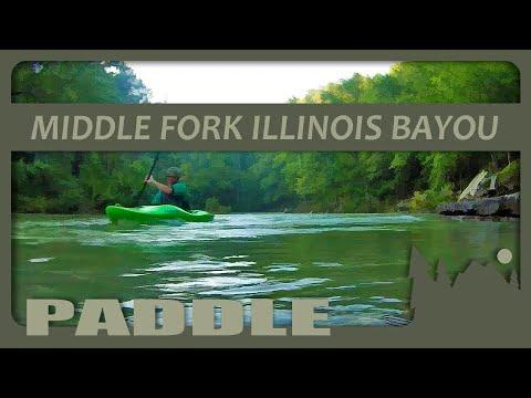 232 Kayaking Middle Fork Illinois Bayou, 9.3 Ft