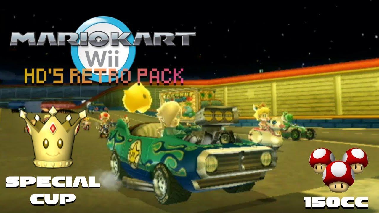 Mario Kart Wii All Retro Tracks Hacks