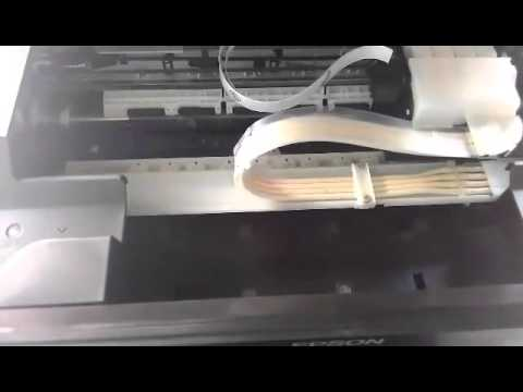 Cara Memperbaiki Printer Epson L210 Tidak Keluar Tinta Youtube