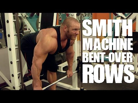 Smith Machine Bent-over Rows – Mutant In A Minute w/Trevor Koot