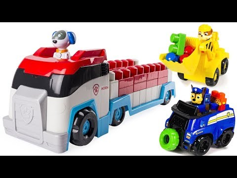 Thumbnail: Learn Colors with Paw Patrol Ionix Paw Patroller Lego Mega Blocks | Fizzy Fun Toys
