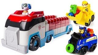 Fun Colors with Paw Patrol Ionix Paw Patroller Lego Mega Blocks