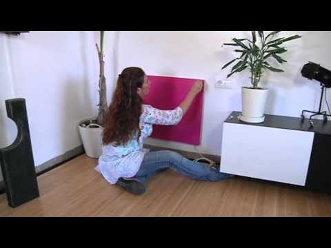 Il pannello di riscaldamento elettrico a basso consumo youtube - Stufa elettrica a basso consumo ...