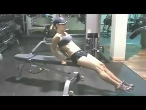como bajar la panza rapido en el gym