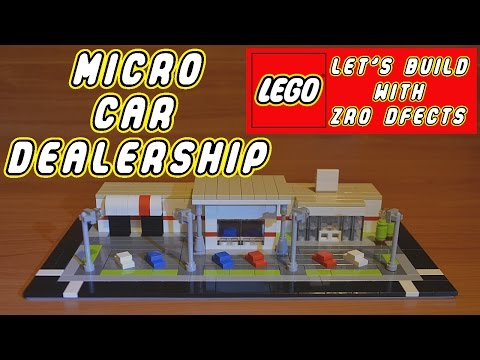 Lego Let's Build - Micro Car Dealership