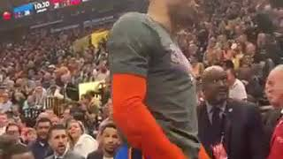 Russell Westbrook Threatens To Beat Up Fan & His Wife During Game