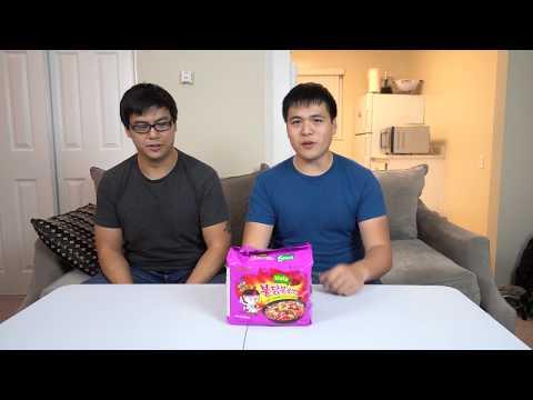 Samyang Mala Korean Fire Noodles - We Eat Stuff