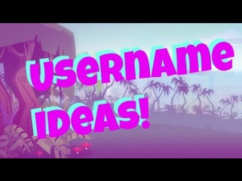 ANIMAL JAM USERNAME IDEAS FOR NEW AJ YOUTUBERS!