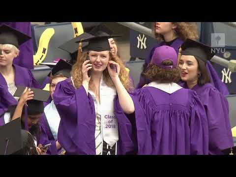 NYU's 186th Commencement Exercises Full Program