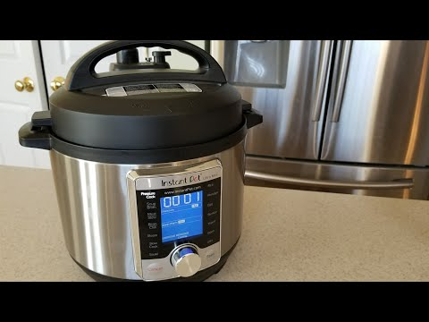 instant-pot-ultra-mini-3qt-pressure-cooker-unboxing-&-first-look-sur-la-table