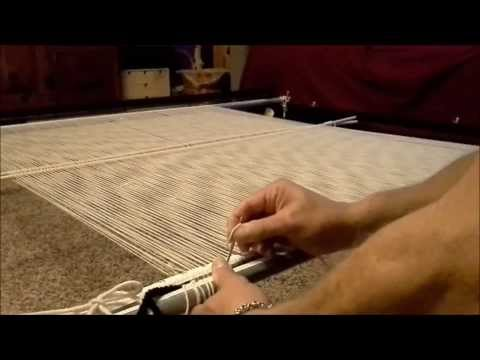 Warping for Navajo Style Weaving (second part)