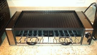 Cuisinart Griddler Grill Centro With Rotating Bbq Skewers (part 1) Review