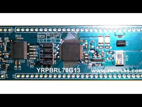 MD Lab: Introductory Look at Renesas RL78/G13 Demonstration Board / Review