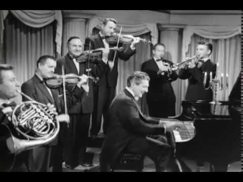 """Liberace's TV-Show: Liberace plays """"Alouette"""" (1950's)"""