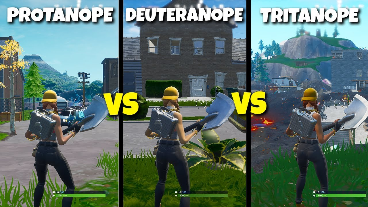 I Tried EVERY Colorblind Setting In Fortnite | This is the best