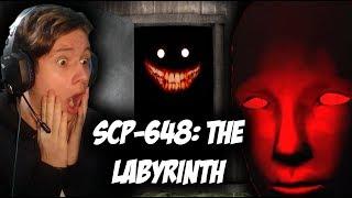 DO CZEGO DOPROWADZA WYPADEK DROGOWY OBOK PLACÓWKI SCP?! | SCP-648: The Labyrinth