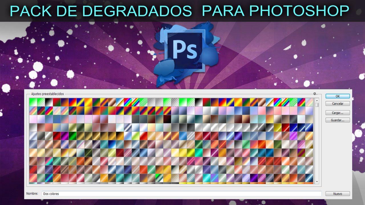 pack de degradados para photoshop cs4