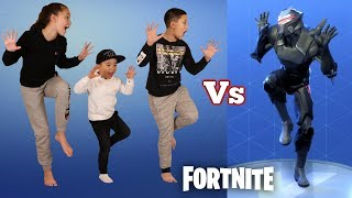 FORTNITE DANCE CHALLENGE !! In Real Life With Ckn Toys