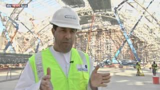 إنجاز مستمر بمشروع مبنى مطار أبوظبي الجديد
