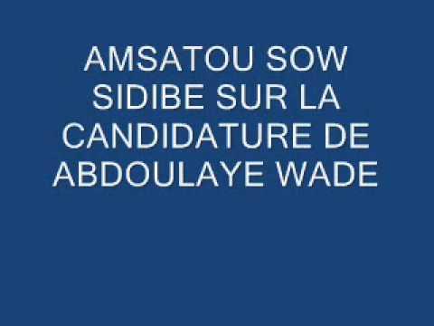 AMSATOU SOW SIDIBE B