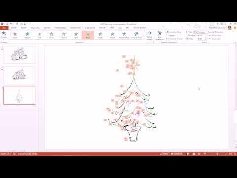 การสร้างภาพวาดลายเส้นเป็นอนิเมชันด้วย PowerPoint