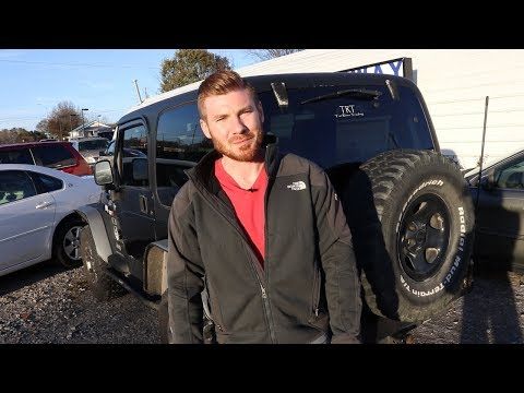 The Car Flip Show Episode 14: 2005 Jeep Wrangler Flip in Progress, How to Negotiate