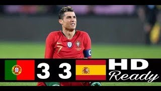 Portugal Vs Spanyol Highlight Goals 15/6/2018