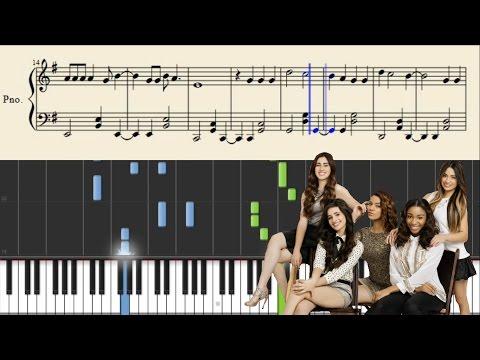 Fifth Harmony - Write On Me - Piano Tutorial + Sheets