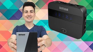 Boltune Bluetooth 5.0 Transmitter and Receiver Review | 2-in-1 3.5mm Stereo Aux Adapter