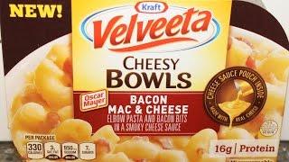 Velveeta Cheesy Bowls: Bacon Mac & Cheese Review