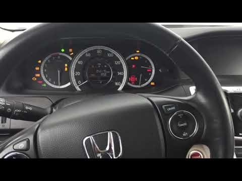 2014 Honda Accord Starting Problem and Solution