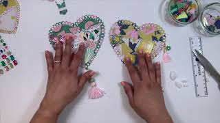 AlinaCraf DT Projects Tutorial - Heart Pocket #happymail #pocket #alinacutle #aliexpress