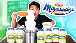 Mayonnaise Fondue Experiment! (GROSS ALERT!) thumbnail