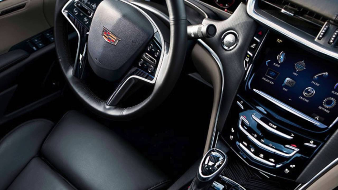 2017 Cadillac Xts Interior And Features In Stone Oak Cavender