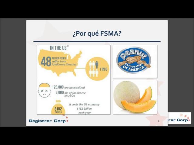 Cumpliendo con Regulaciones FSMA